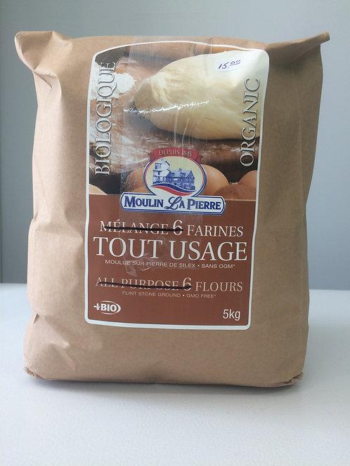 5kg farine tout usage 4 grains