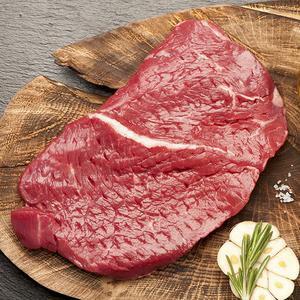 Bifteck du roi bœuf bio (coupe française)