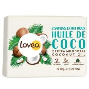2 Savon Lovea huile de coco