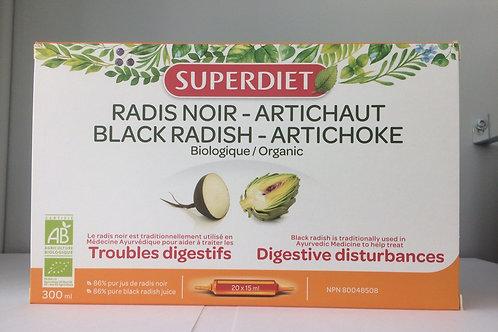 Radis noir & artichaut