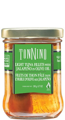 Thon pâle huile olive jalapeño