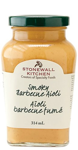 Aïoli barbecue fumé