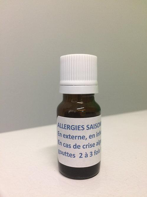 Allergies saisonnières synergie Pranarôm 10ml