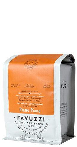 Café en grains décaféiné 340gr Favuzzi 340gr