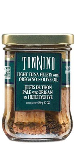 Thon pâle origan huile d'olive