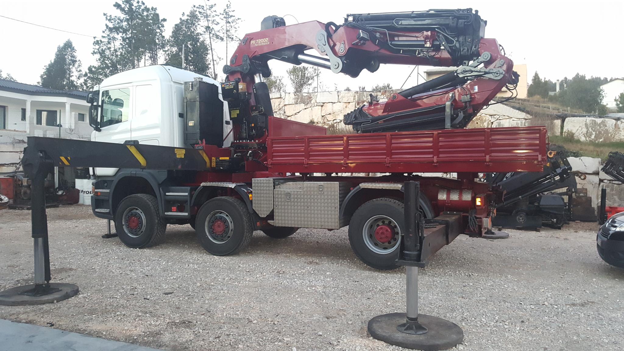 Scania + PK72002