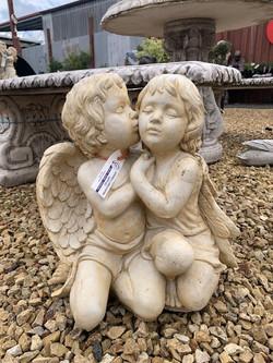 ANGELS KISSING