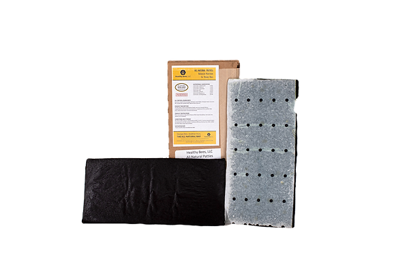 Healthy Bees Spirulina Patties - 10x Pack (NO Essential Oils)