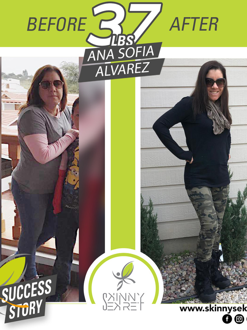 ANA SOFIAPEREZ 37LBS - TRANSFORMATION  c