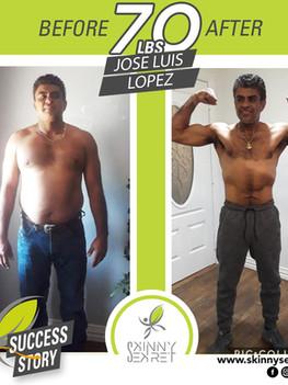 - JOSE LUIS LOPEZ - 70LBSTRANSFORMATION