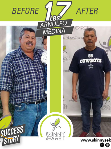 - TRANSFORMATION ARNULFO MEDINA - 17LBS.