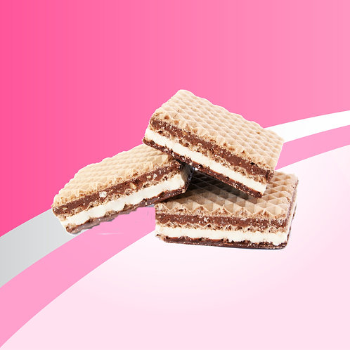 Protein Squares: Raspberry Wafers