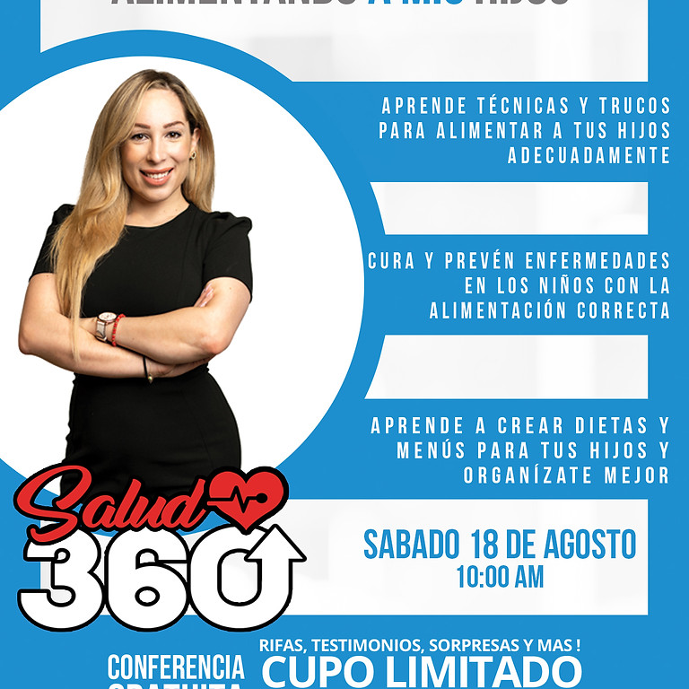 Conferencia Tu Salud 360