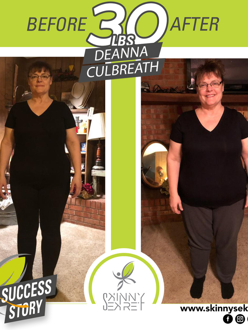 DEANNA CULBREATH 30BLS - TRANSFORMATION.