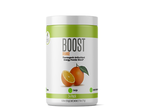"Boost: ""Orange""  Energy Drink /Energetizante"