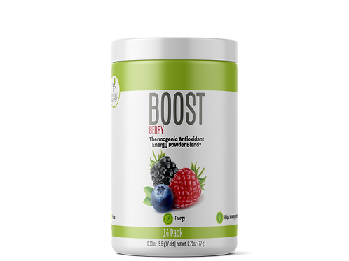 "Boost: ""Berry""  Energy Drink /Energetizante"