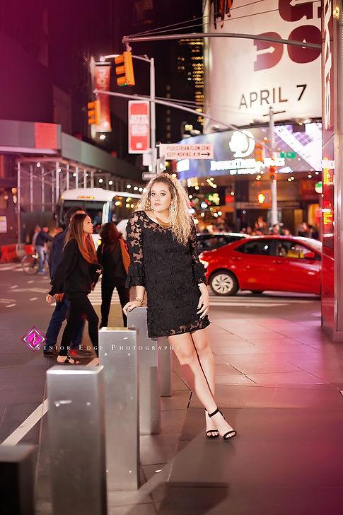 Shaylea Newberry, Senior Edge Model, Laura Tusek