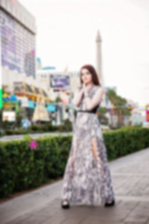 Las Vegas Strip, Destination Photography, Model Shoot, Taylor Smith