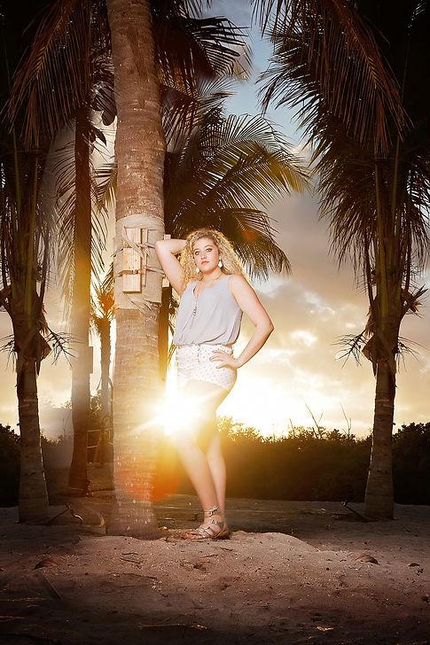 senioredge model shoot at Miami Fl