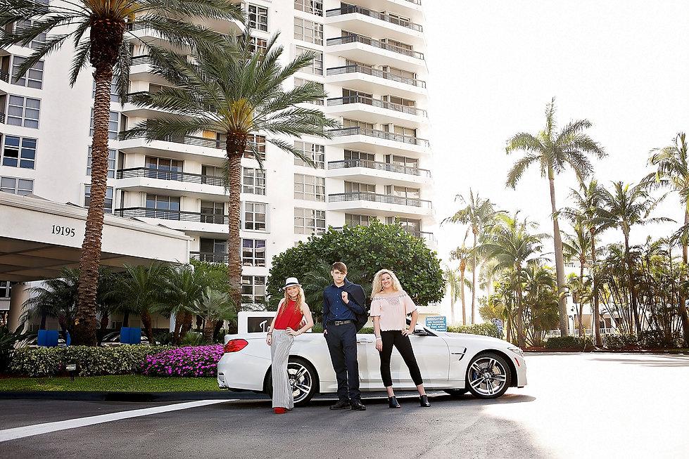 Senior Edge Photography, Miami Destination Shoot