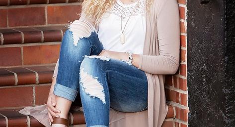 Byng High School Senior Edge Model Shaylea Newberry