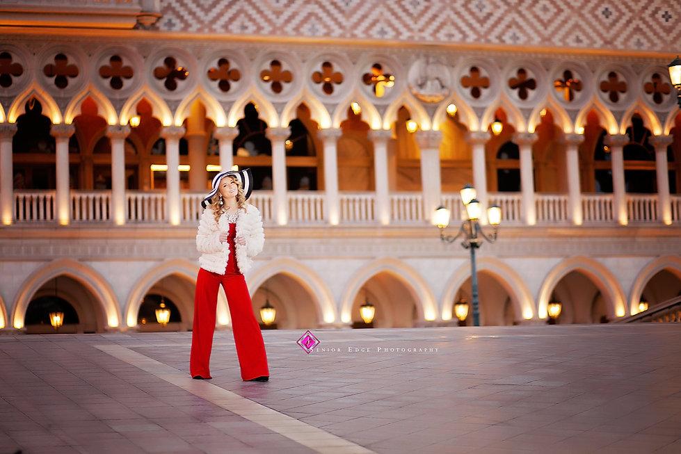 Las Vegas senior edge destination shoot, Lexi Tusek