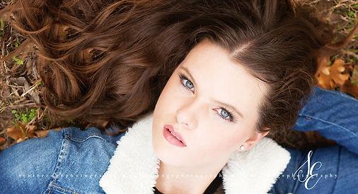 Senior Edge Model Lauren Burden Ada High School Senior
