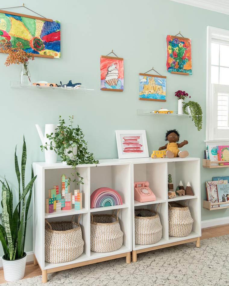 Toy Shelf Storage