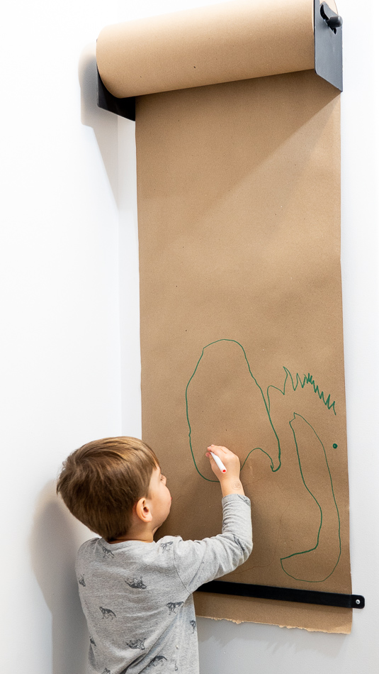 Playroom Wall Easel