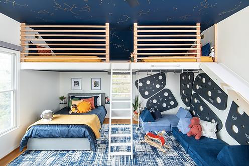 Purcelleville Playful Bedroom