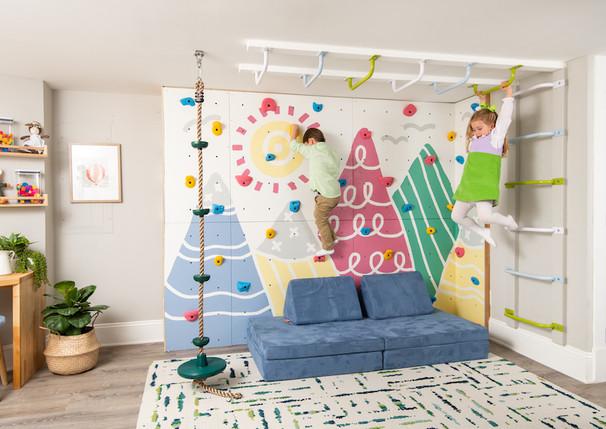 Capitol Hill Basement Playroom