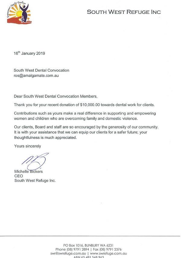 SWWR Dontation Thankyou Letter.JPG