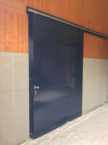 Posuvné dveře stáj