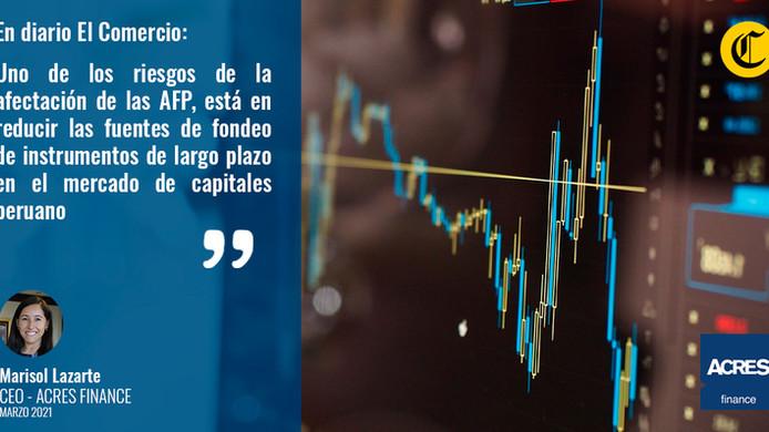 El impacto que tendría en el mercado de capitales la liberación de los fondos de las AFP