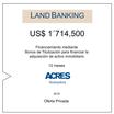 ACRES Titulizadora emitió nuevos bonos de titulización para Land Banking