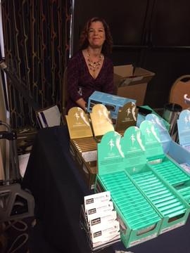 Sarah Paisner Ballet needles display