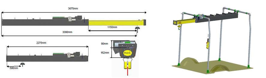 konstrukcia easyload500 parametre konstrukcie
