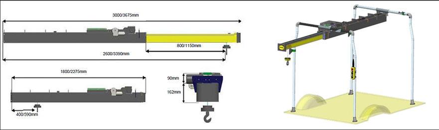 Easyload 250 konstrukcia construction lifting device zdvihacie zariadenie zdvihanie konstrukcia vozidlo zdvihanie redmetov do vozidla