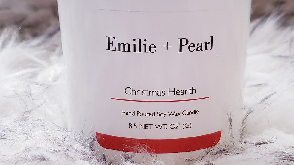 Christmas Hearth Scented Candle