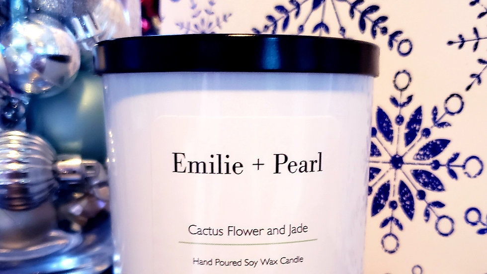Cactus Flower and Jade Scented Candle