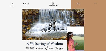 Inspirational T-shirts and golf accessories _ A Wellspring of WisdomHome _ Wellspring of W