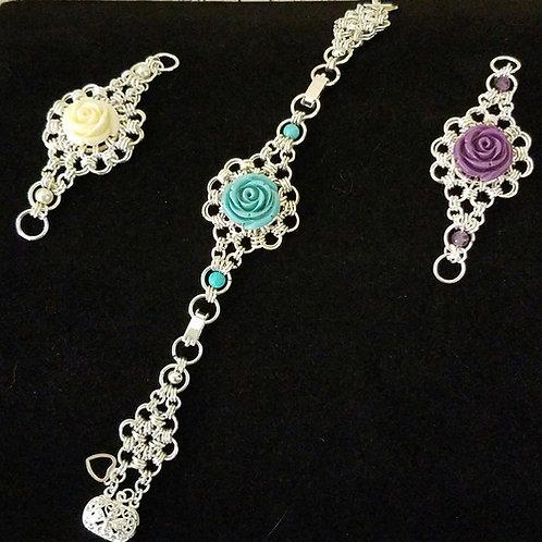 Transformable Bracelet-Rose Design