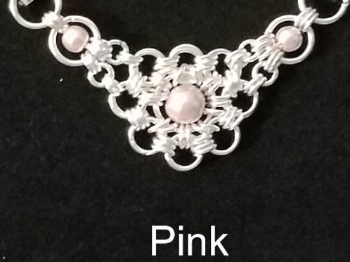 Transformable Necklace Insert-Czech Glass Pearl-Various Colors