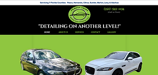 Screen shot of Perfection Mobile Auto Detailing homepage