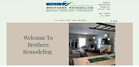 Image of homepage of brothers remodeling