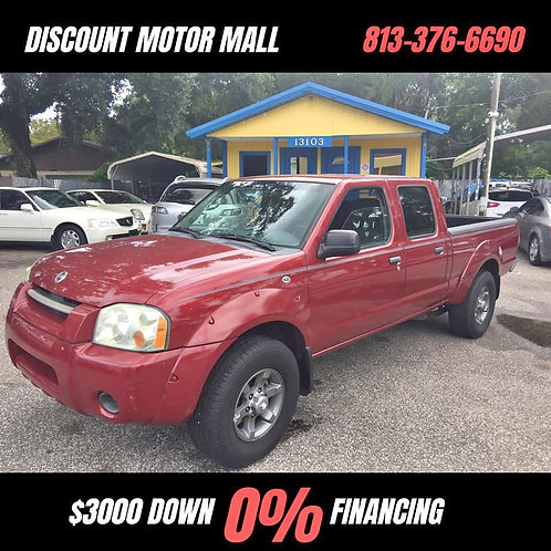 2004 Nissan Frontier Crew Cab XE Pickup 4D 4 1/2 ft Bed