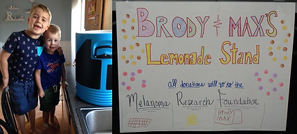 Picture - Brody and Max Lemonade Stand -