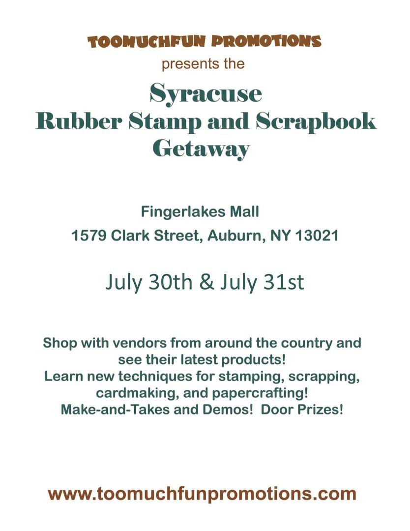 Syracuse Stamp & Scrapbooking Show