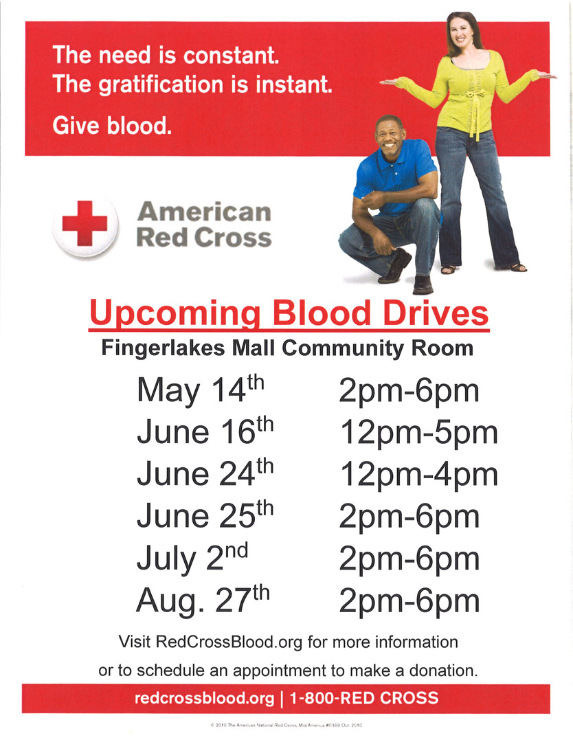 American Red Cross Blood Drives