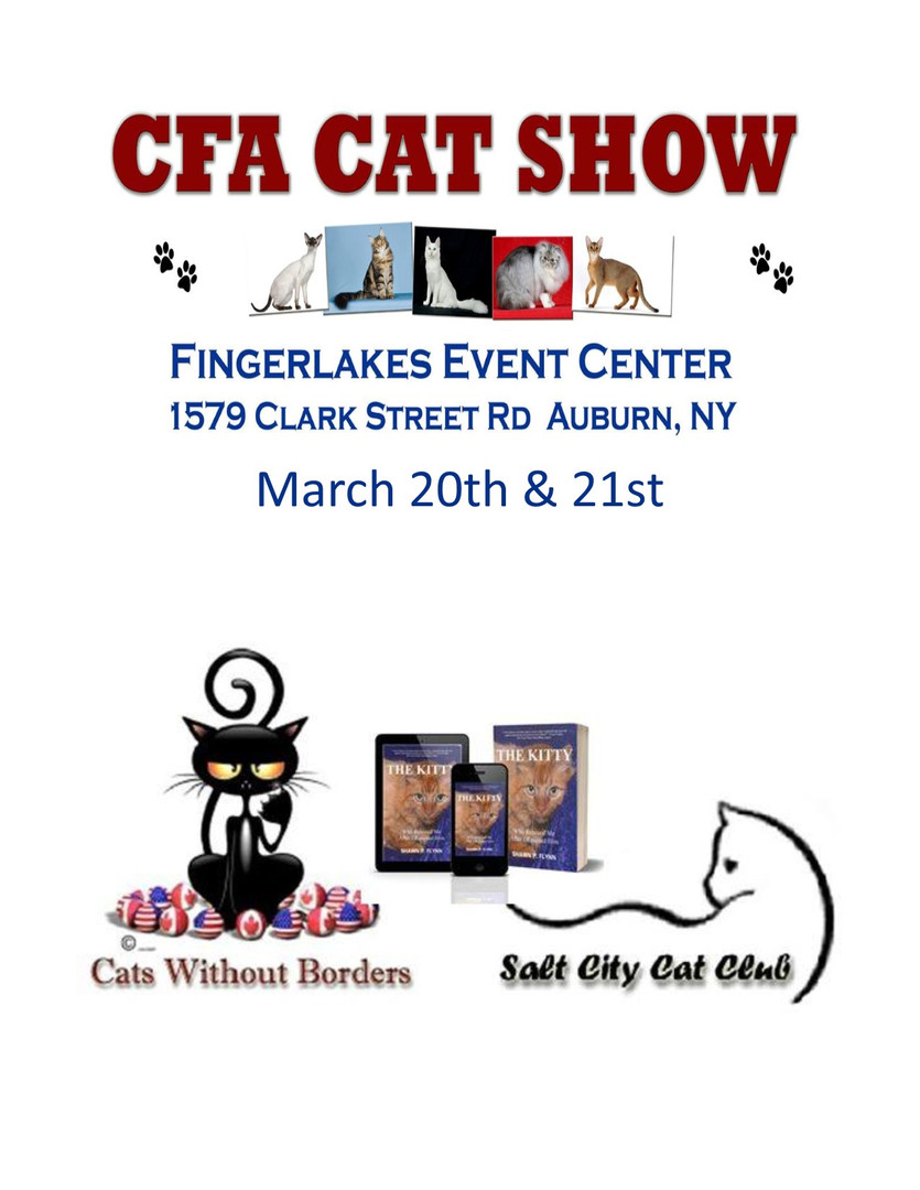 Cat Fancier's Association Cat Show 2021